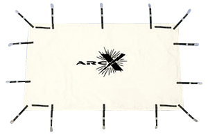 The Arc Suppression Blanket has been design to suppress an arc flash.