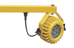 The heavy duty LED docklights are ideal for low temperature environments